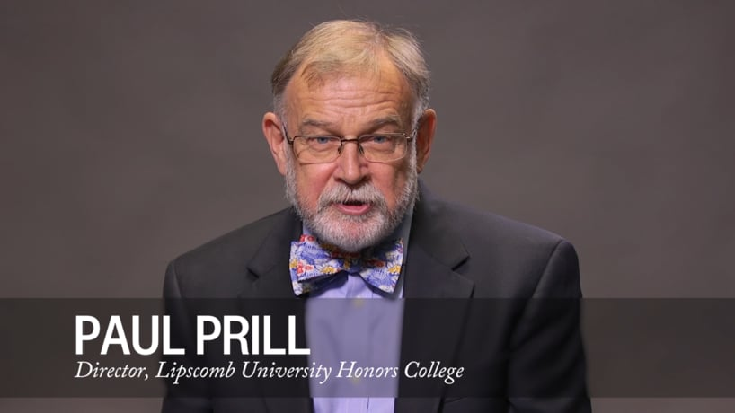 Message from Paul Prill, Director of the Honors College