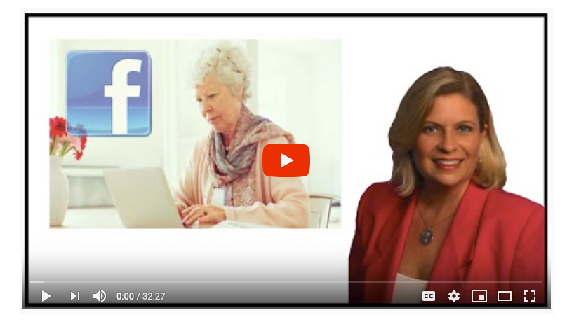Facebook for Seniors YouTube image link