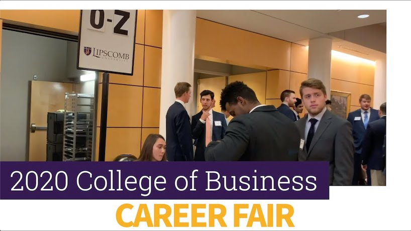 Highlights from the College of Business's annual Career Fair.