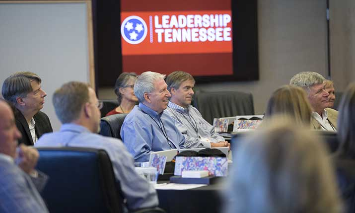 Classroom of Leadership Tennessee participants