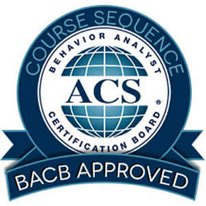BACB certified program badge