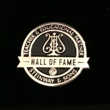 Steinway Hall of Fame logo