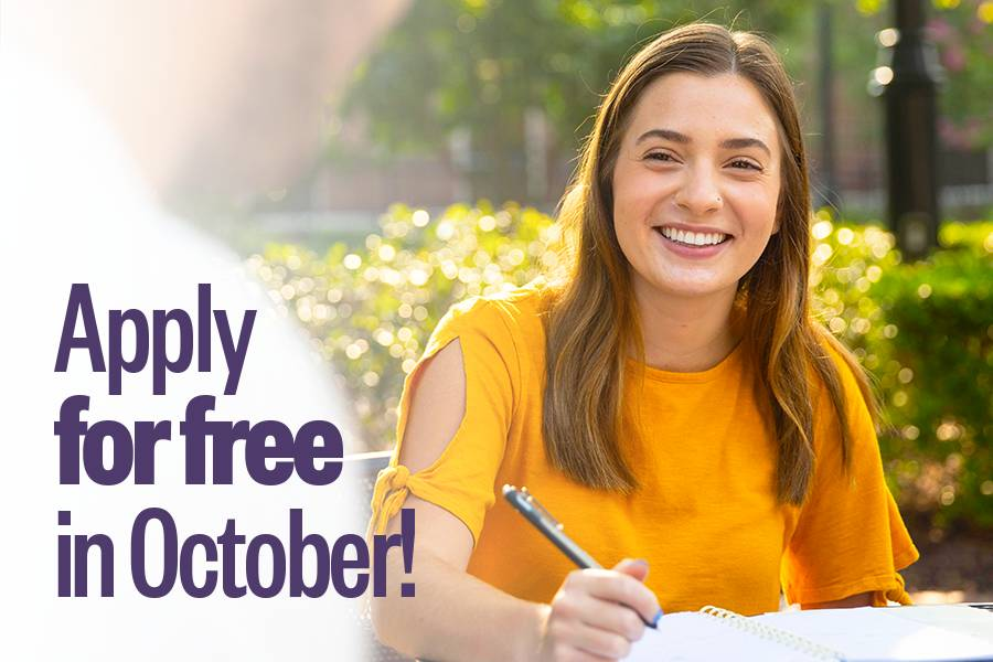 Apply for free in October