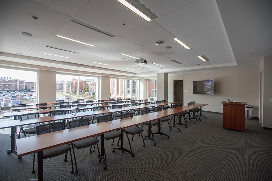 Fields Engineering Center classroom