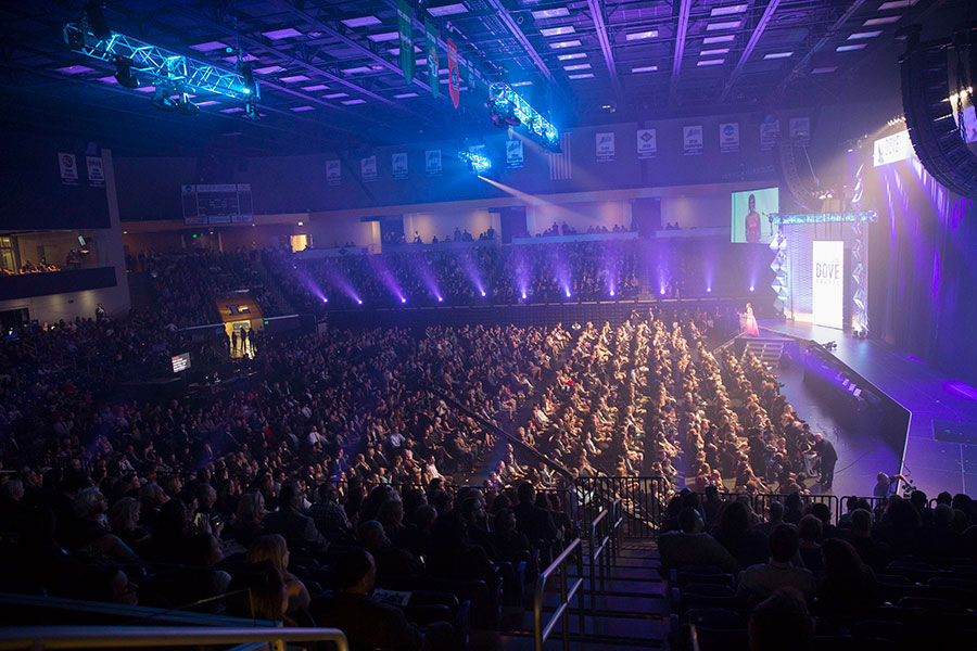 The Dove Awards are hosted on Lipscomb's campus