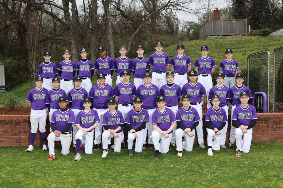 Lipscomb Academy 2019-20 Middle School Baseball Team