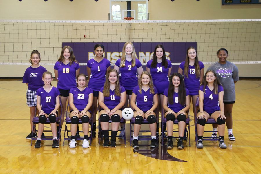 Lipscomb Academy 2019-20 Middle School JV Volleyball Team