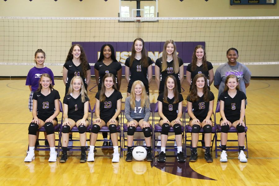 Lipscomb Academy 2019-20 Middle School Varsity Volleyball Team