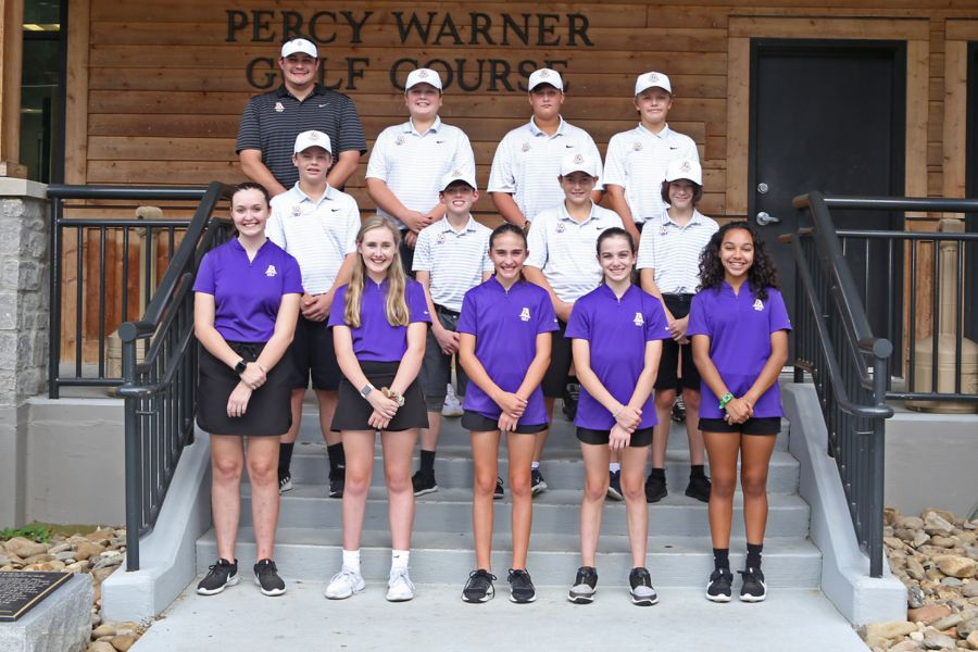 Lipscomb Academy 2019-20 Middle School Golf Team
