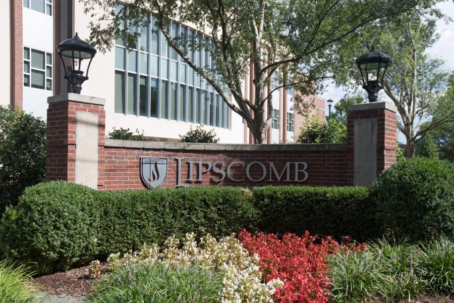News - Generic campus shot of Lipscomb sign