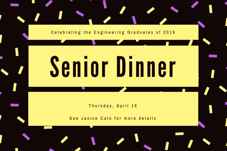 News - eng. senior dinner