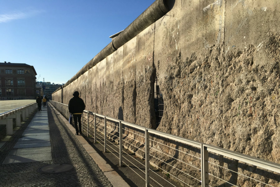 30th Anniversary of fall of Berlin Wall