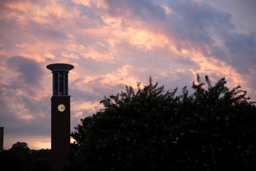 Sunset by Bell Tower