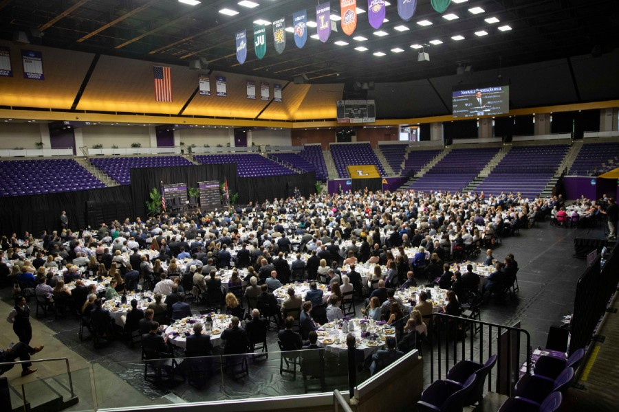 Nashville Business Breakfast event in Allen Arena