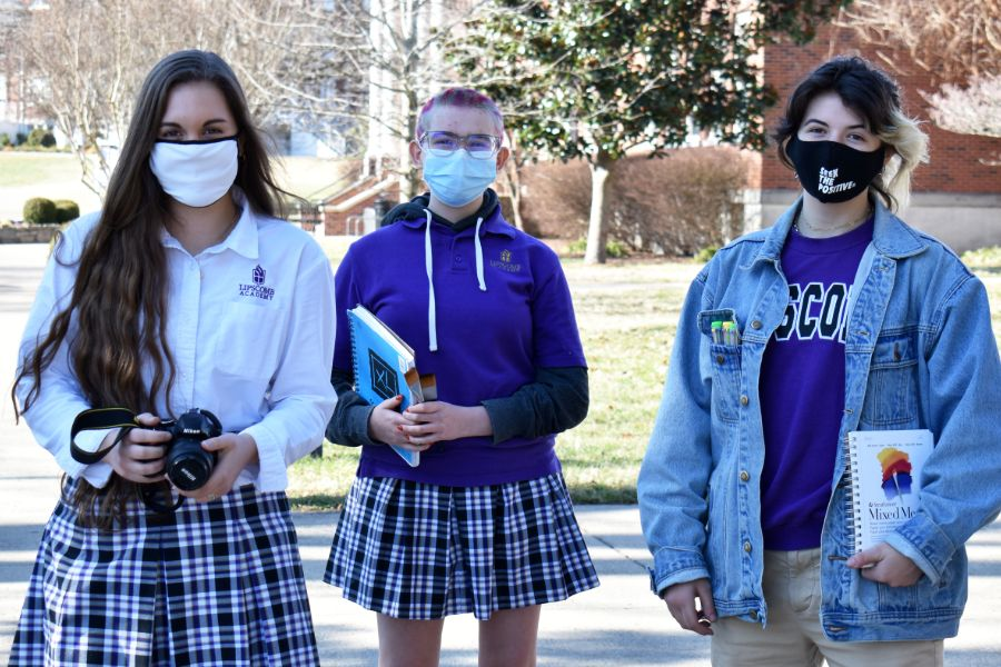 Three Lipscomb Academy students receive honors at 2021 Middle Tennessee Scholastic Art Competition.