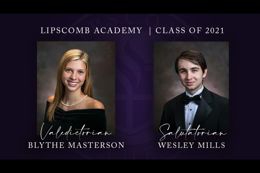 Valedictorian and Salutatorian named