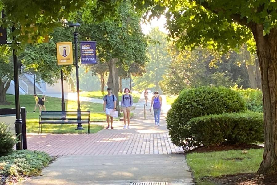 View of Lipscomb campus