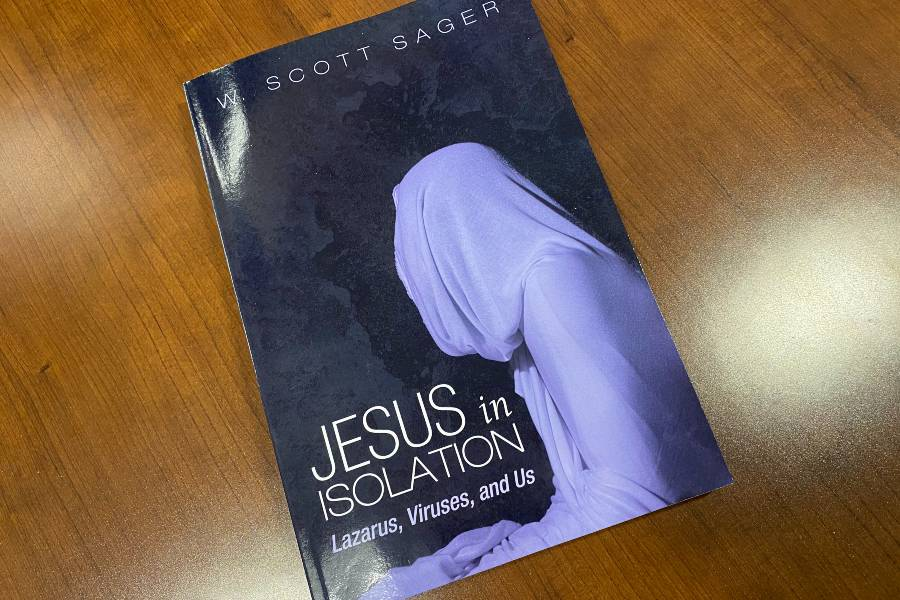 Cover of the book Jesus in Isolation by Scott Sager