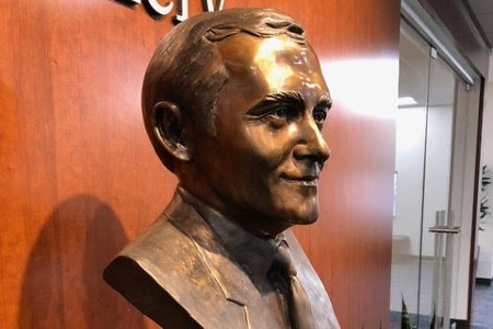 Bust of John C. Hutcheson
