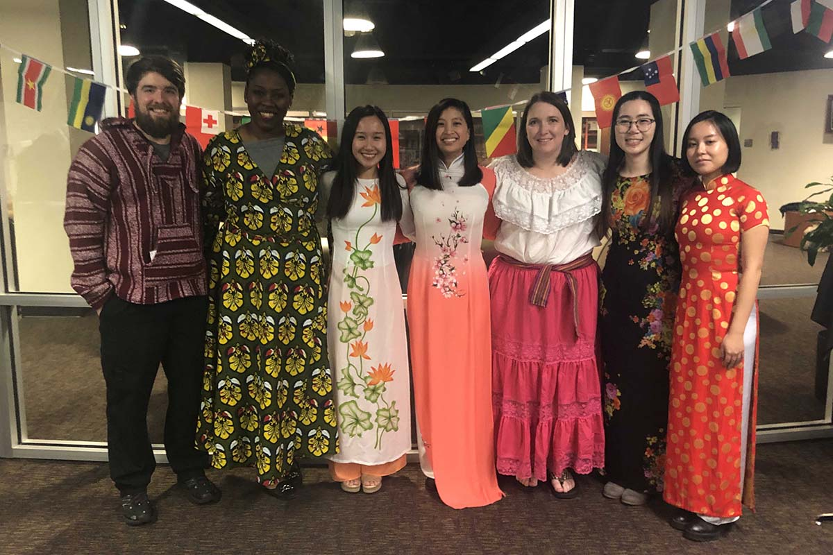 Pharmacy students at annual diversity fair