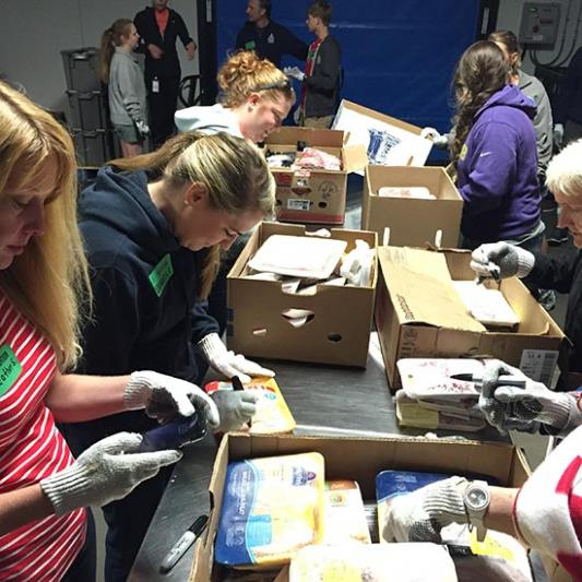Lipscomb community volunteering