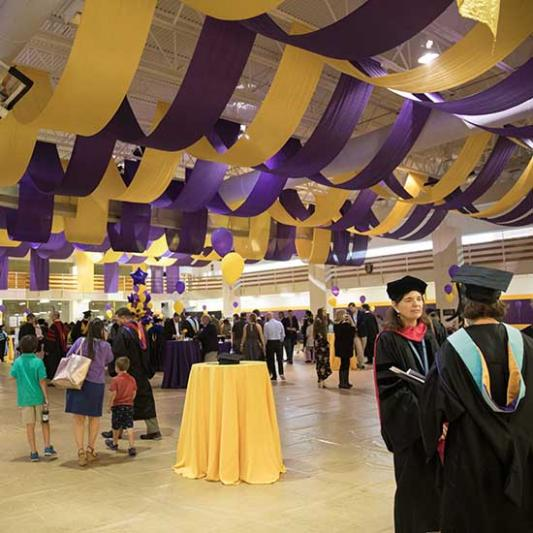 Celebration In the Student Activities Center