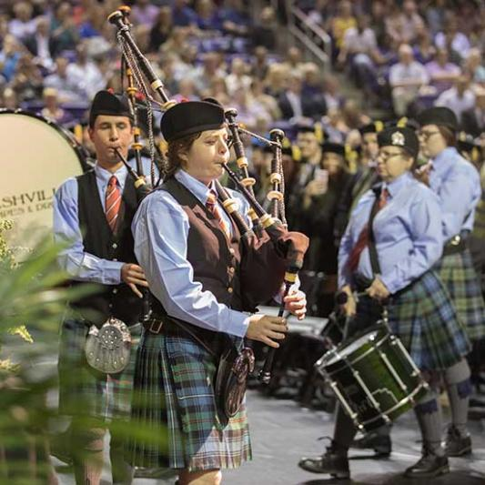 Nashville Pipes & Drums performs