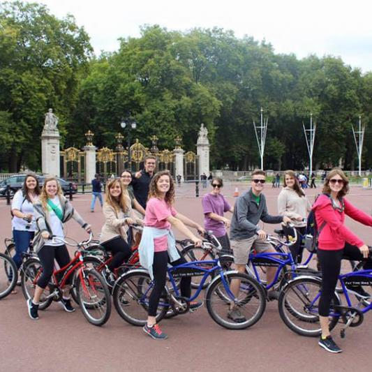 Biking in London