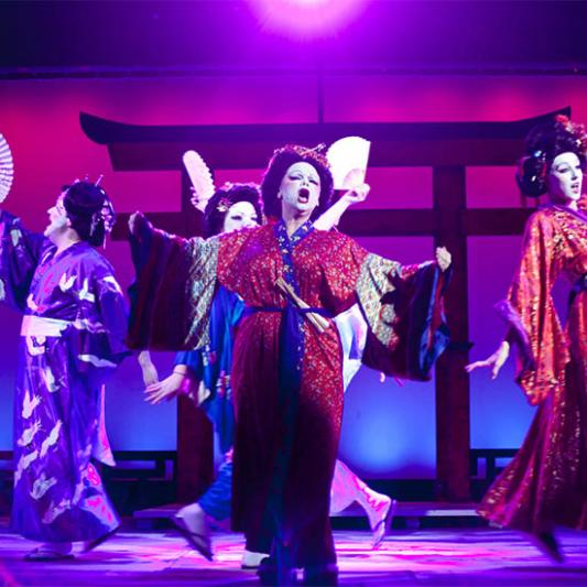 "A scene from ""Pacific Overtures"""