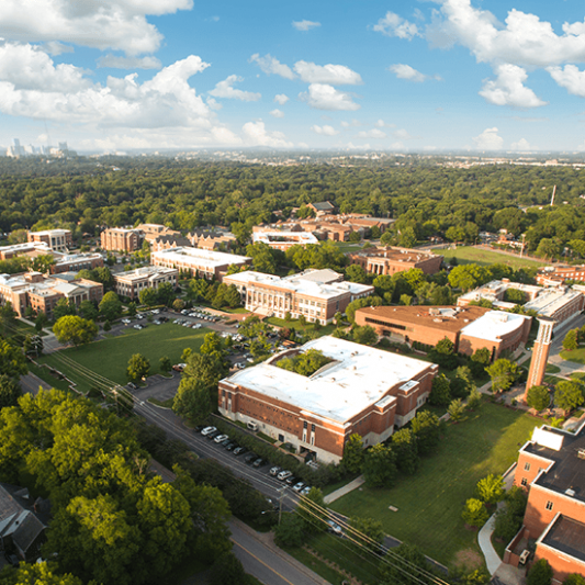 Campus from above.