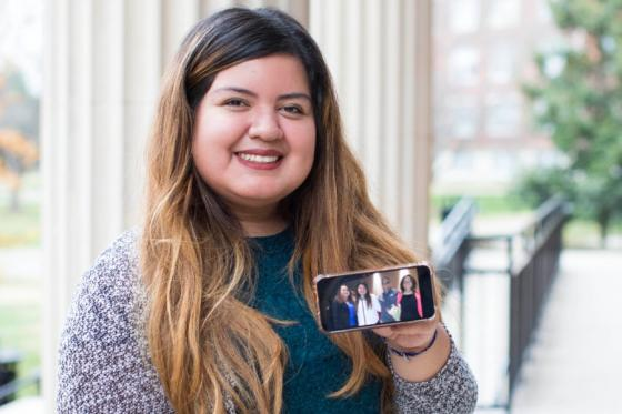News - Jocelyn Hernandez Grad and phone