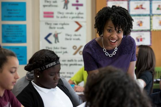 News - Cicely Woodard in Class