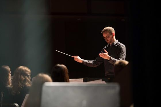 News - Conducting Workshop Ben Blasko