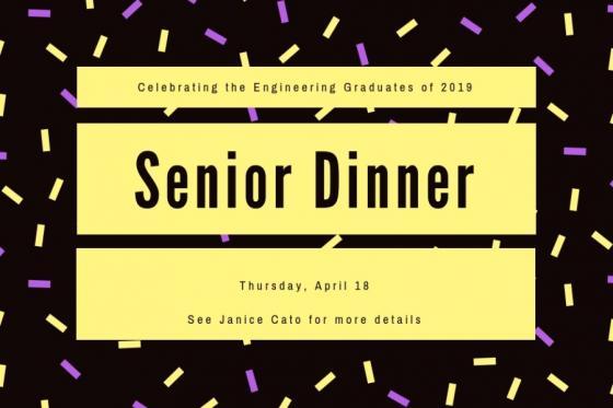 News - eng. senior dinner