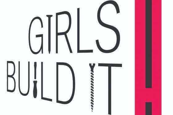 Girls build it logo