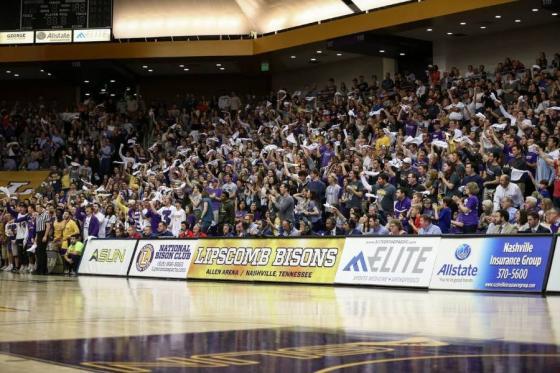 Crowd scene in Allen Arena