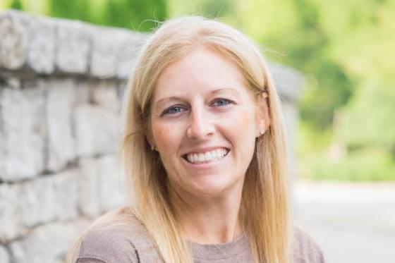 Becky Starks, girls' head basketball coach