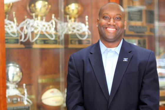 Kevin Starks, head boys' basketball coach