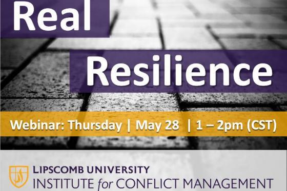 Real Resilience postcard design