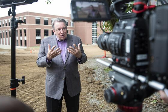 L. Randolph Lowry filming info for the class