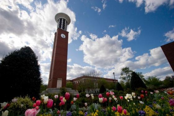 Lipscomb campus in the spring