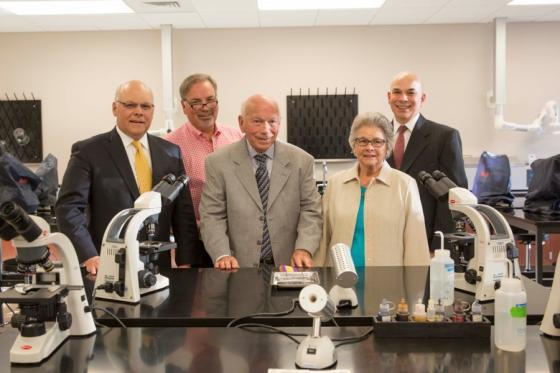 Dr. John Netterville Sr. and family