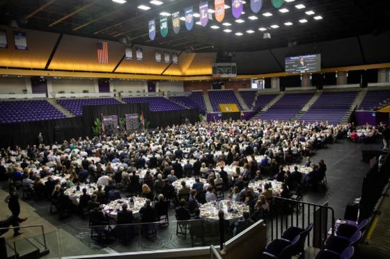 Nashville Business Breakfast event in Allen Arena