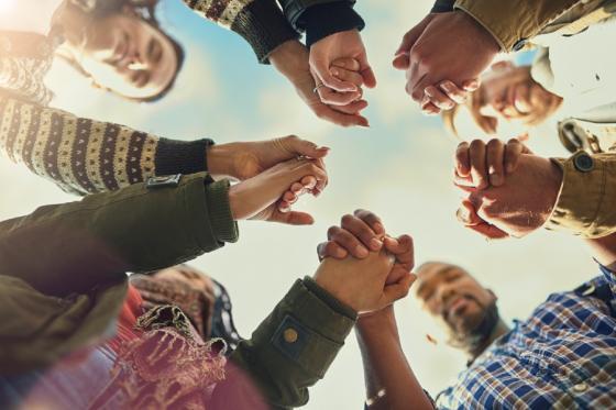 A prayer group