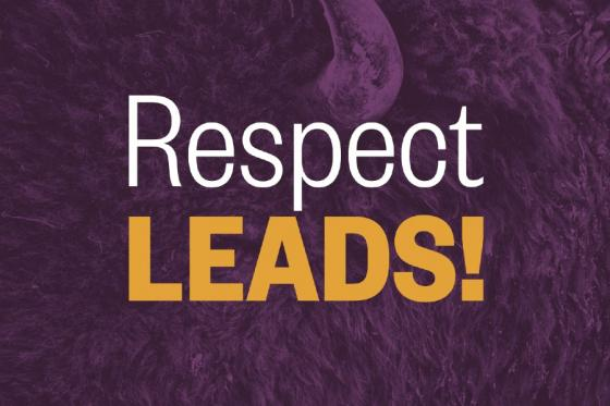 respect Leads logo