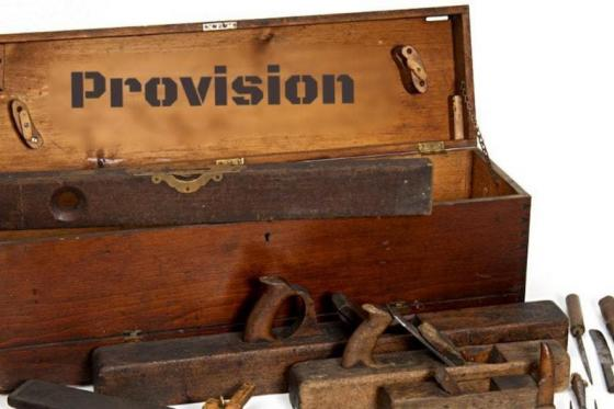 Provision Ministry Workshop
