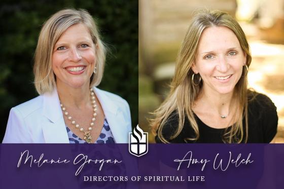 Melanie Grogan and Amy Welch co-lead as directors of spiritual life
