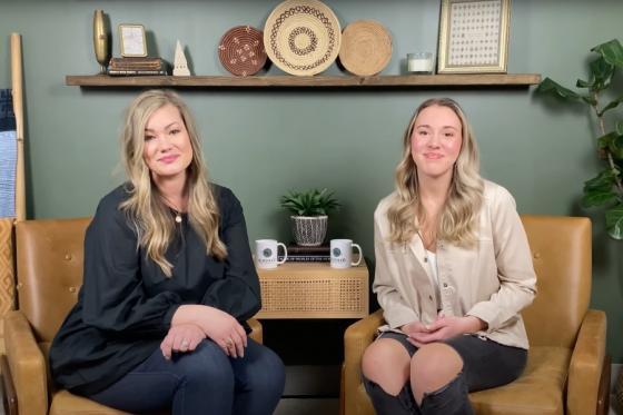 Lauren Pinkston and Abby Littlefield