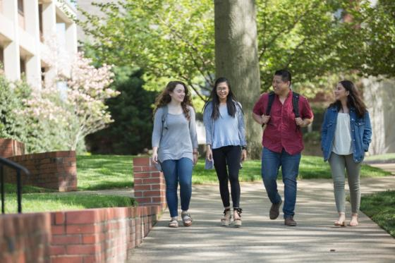 Latino students on the Lipscomb campus