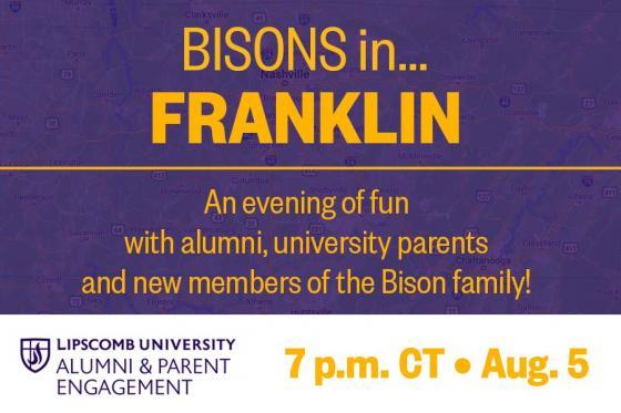 Bisons in Franklin